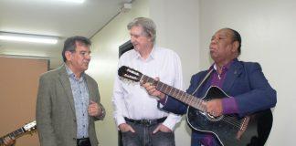 Mocóca e Paraíso, com Sérgio Reis. (Foto: Wellington Hokama)
