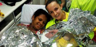 Parto do bebê Natan Rafael foi realizado pelos médicos da concessionária. (Foto: Divulgação)