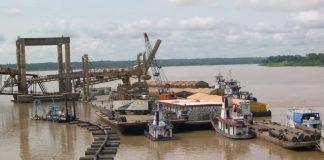 Rio Madeira ganha nova estação de transbordo de carga.