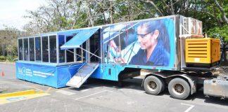 Truckvan importou unidade móvel para a Costa Rica. (Foto: Divulgação)