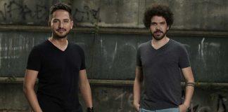 Dupla Renato e Giovanelli apresentaram seu trabalho no estúdio, com Sérgio Reis.